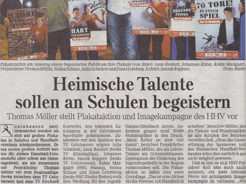 Gellnhausen startet Handballaktion