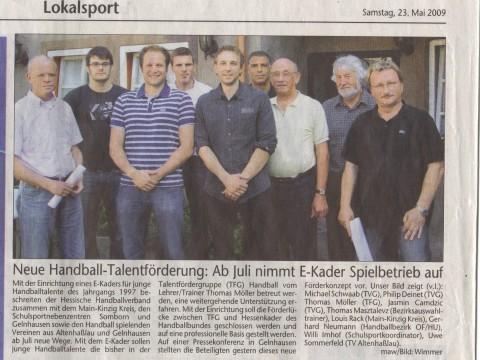 E-Kadergründung 2009